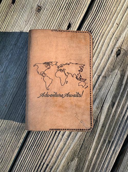 Passport Cover Adventure Awaits