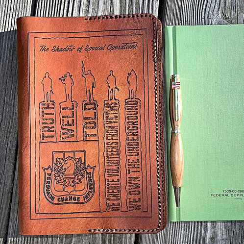 Leather Book Cover Special Operations