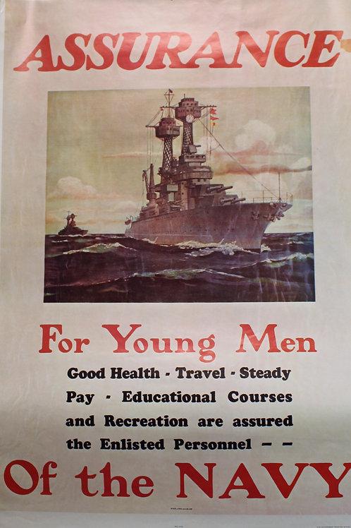 Assurance / Navy RecruitingPoster
