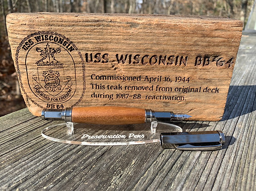 USS Wisconsin Fountain Pen