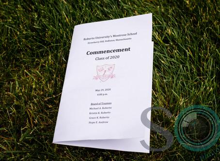 A Social Distancing Graduation!!