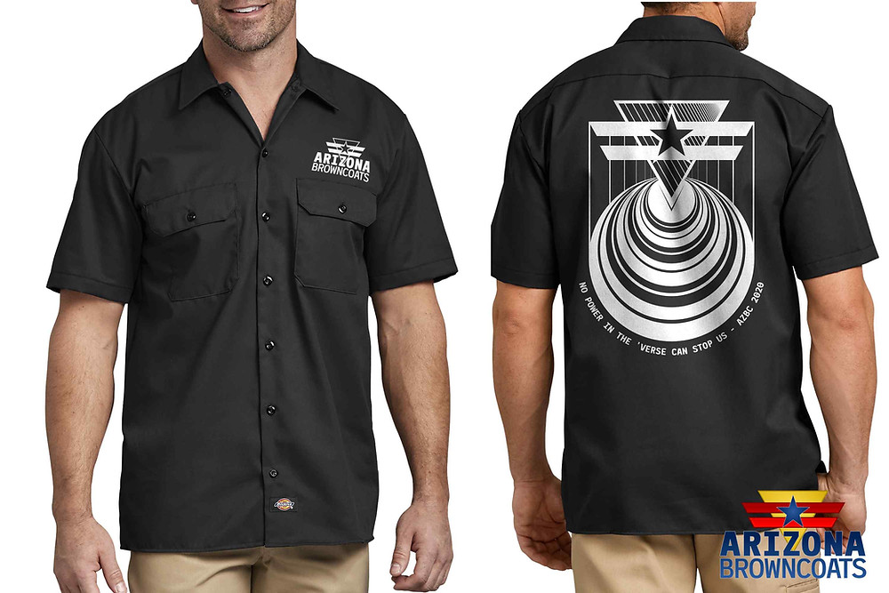 Dickies 1574 work shirt with new design.