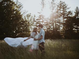 Thrifting & Clothesline Engagement Session   Illinois Wedding & Boudoir Photographer