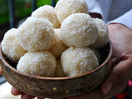 Coconut Laddoo