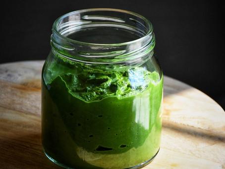 Spinach Chutney / Pallak Chutney