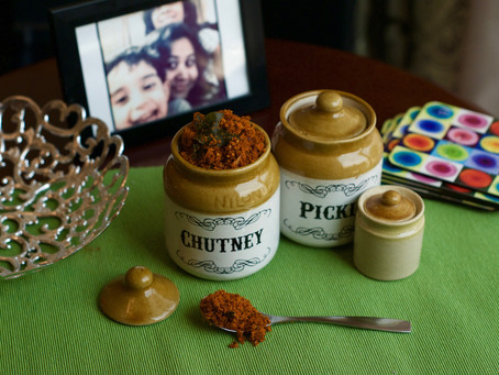 Dry Coconut Chutney Pudi (chutney powder)