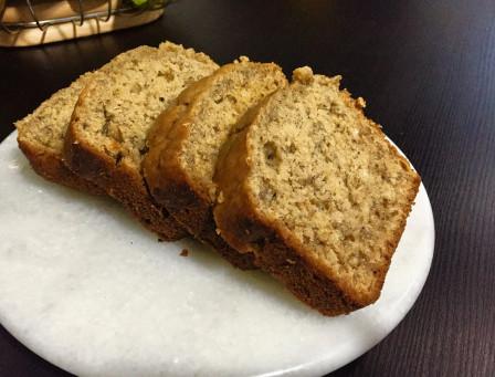 Oatmeal & Banana loaf