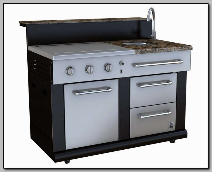 SINK - GRIDDLE - DBL BURNER