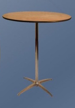 Stand up / Hi-boy cocktail tables