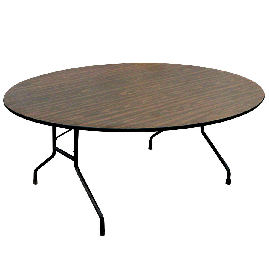 Round Wood Tables