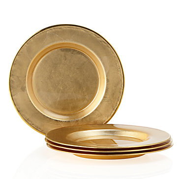 "13"" Glass Charger Plate"