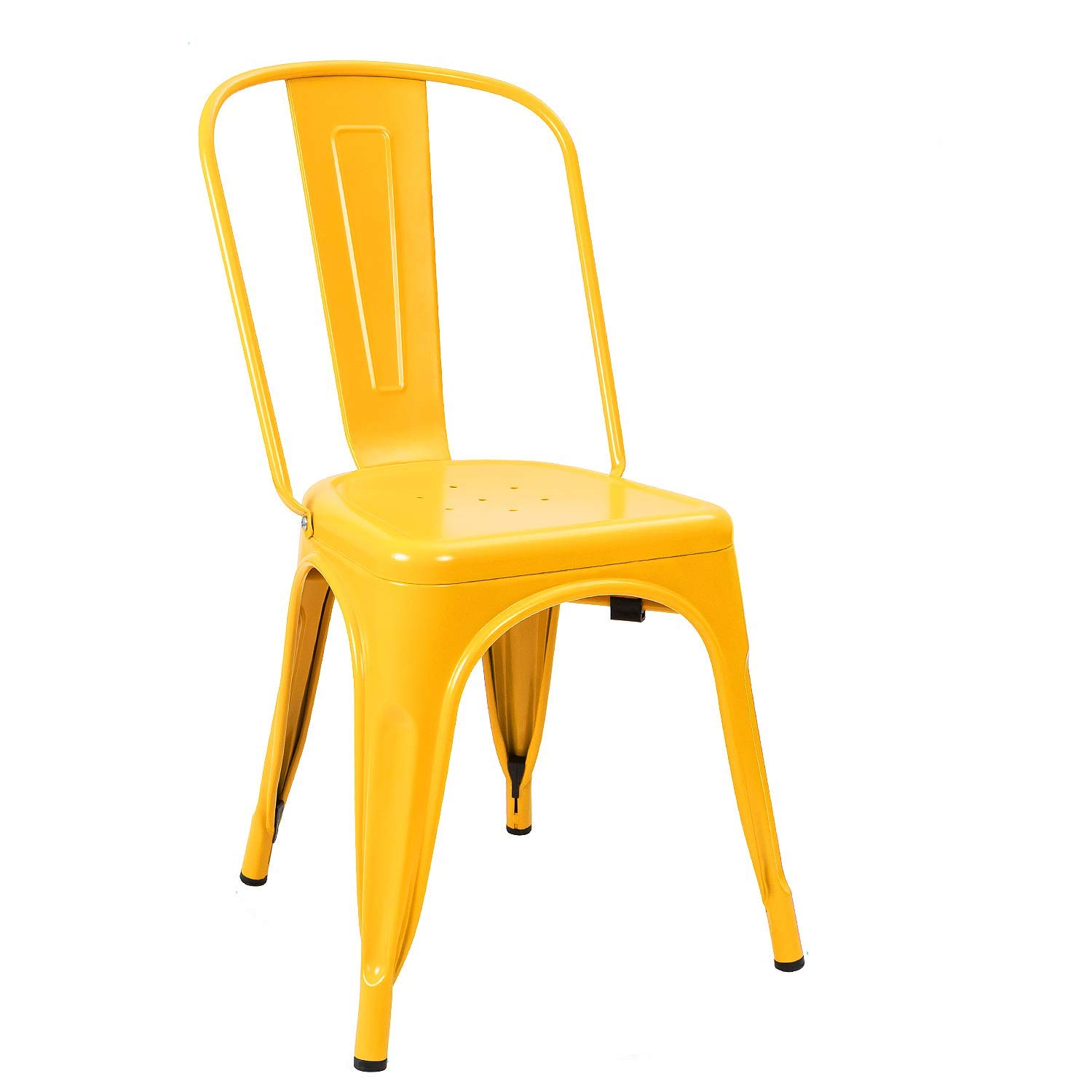Metal Chair - Yellow