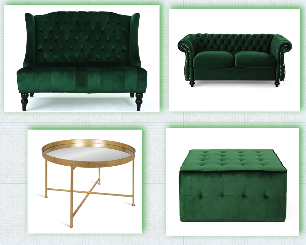 Lounge Seating - Green