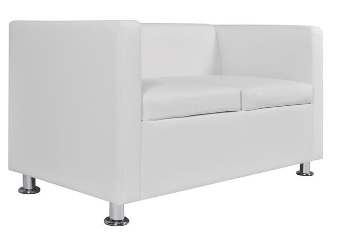 Love Seat - White