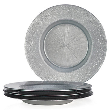 "13"" Glass Charger"
