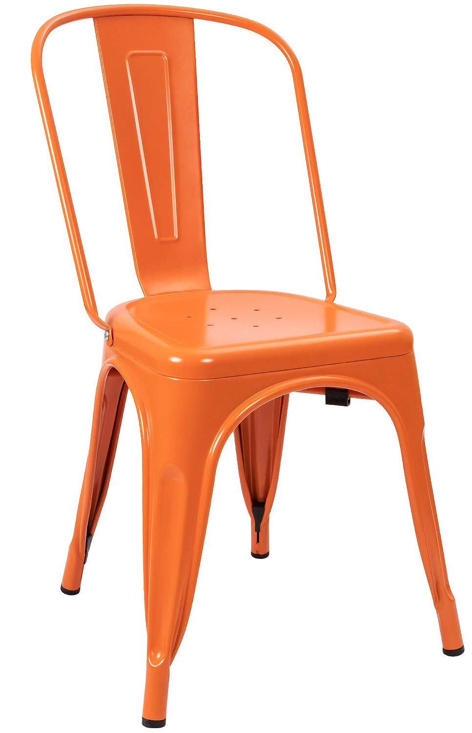 Metal Chair - Orange