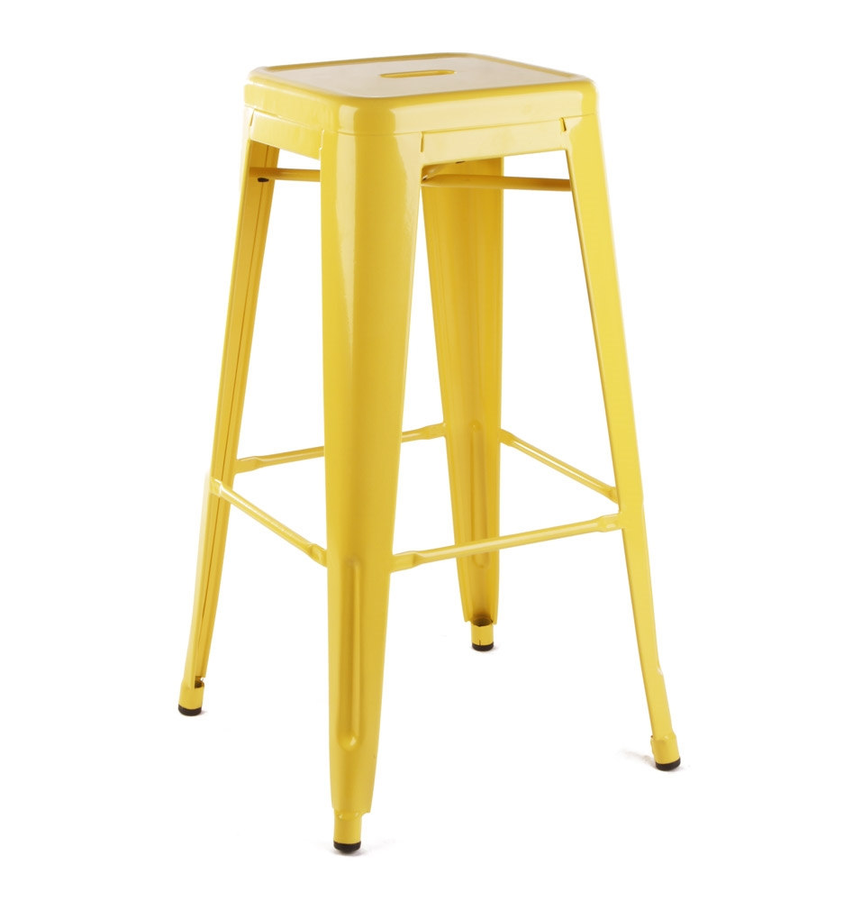 Bar Stool - Yellow