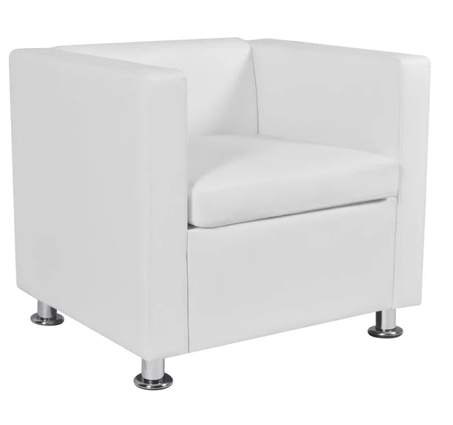 Club Chair - White