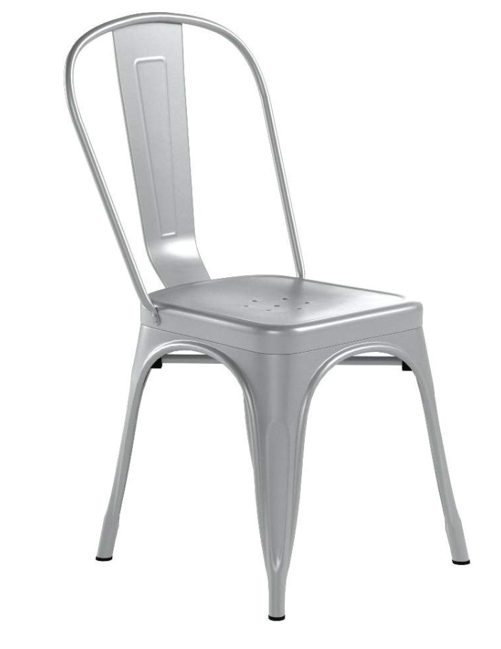 Metal Chair - Silver