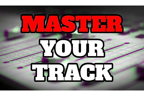 PROFESSIONALLY MASTER YOUR TRACK BY STREETWISE