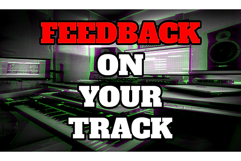 PROFESSIONAL FEEDBACK ON YOUR TRACK BY STREETWISE