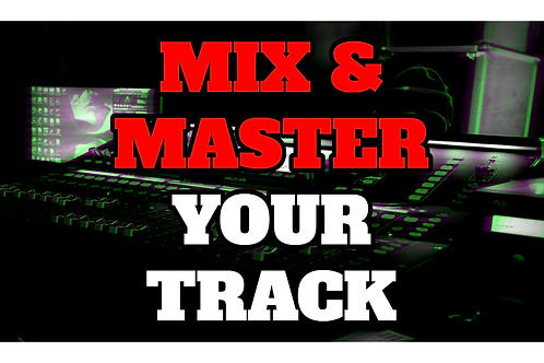 PROFESSIONALLY MIX AND MASTER YOUR TRACK BY STREETWISE