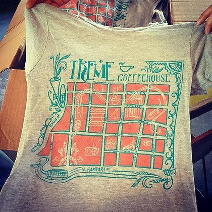 Monica Kelly Studio Map Shirts