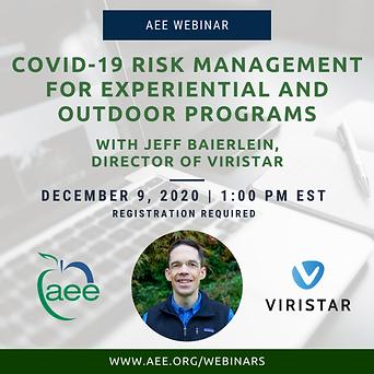 Viristar-AEE COVID-19 Risk Management we