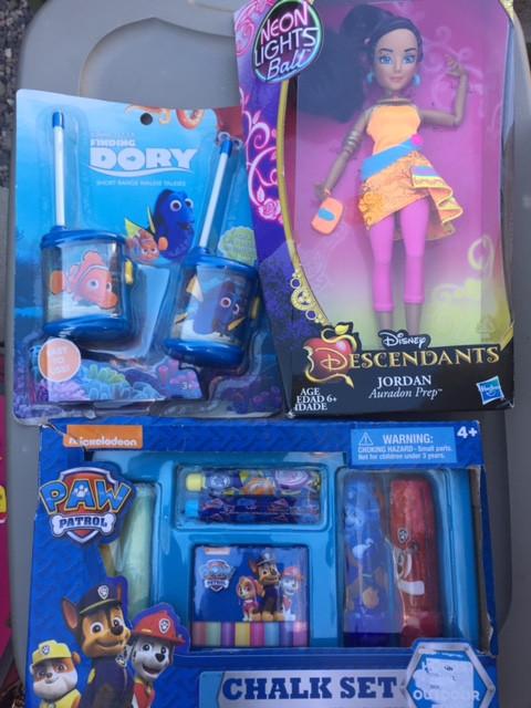 Sneek peak at some of the toys we're donating next week!