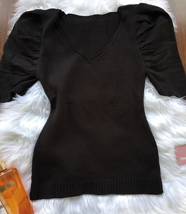 T-shirt tricot Preta
