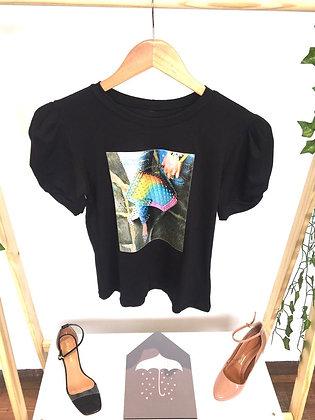 T-shirt mini bag tie dye