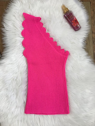 Blusinha Tricot Pink