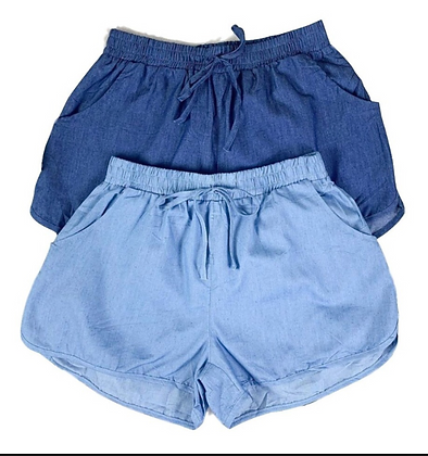 Shorts tipo Jeans