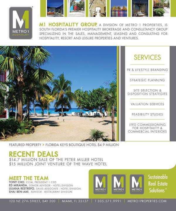 Metro 1 Magazine Ad