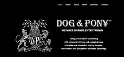 Dog and Pony Website Design