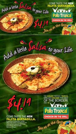 Pollo Tropical Billboard-Poster