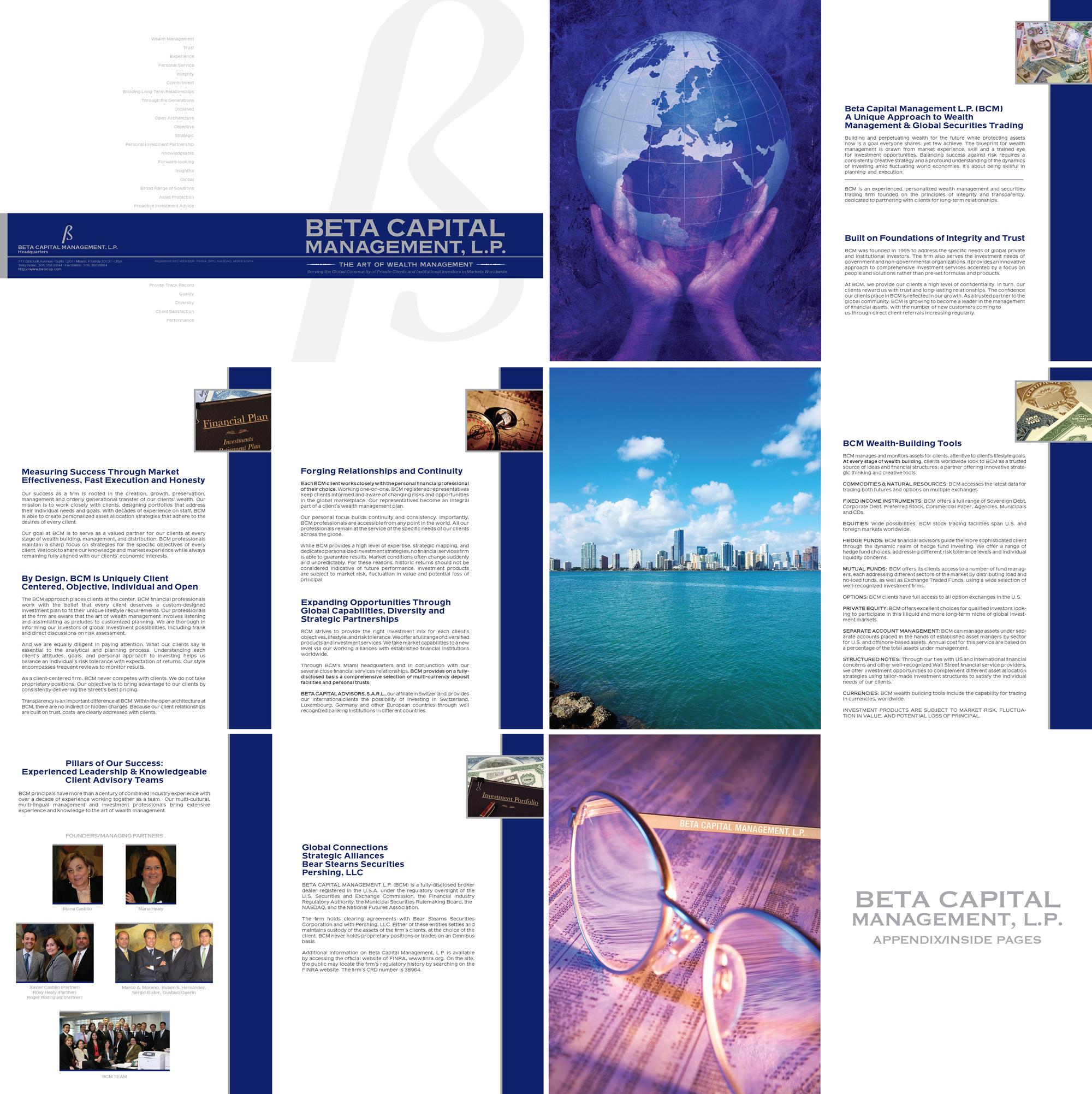 Beta Capital Management AnnualReport