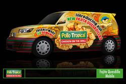 Pollo Tropical Vehicle Wrap