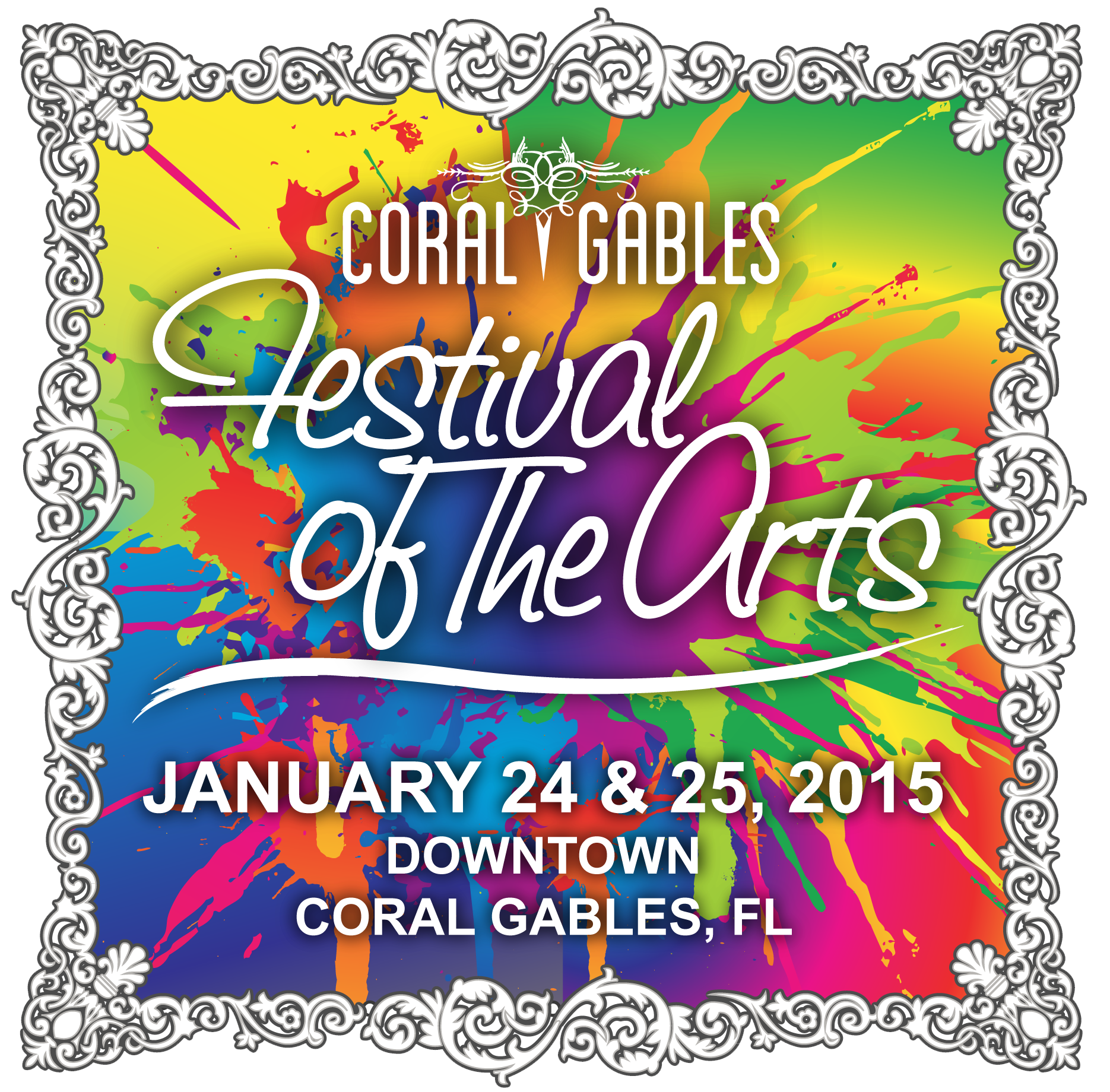 Coral Gables Festival of The Arts logo