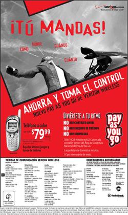 Verizon Wireless Weekly Sunday Print