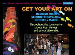 Art Night South Miami Website