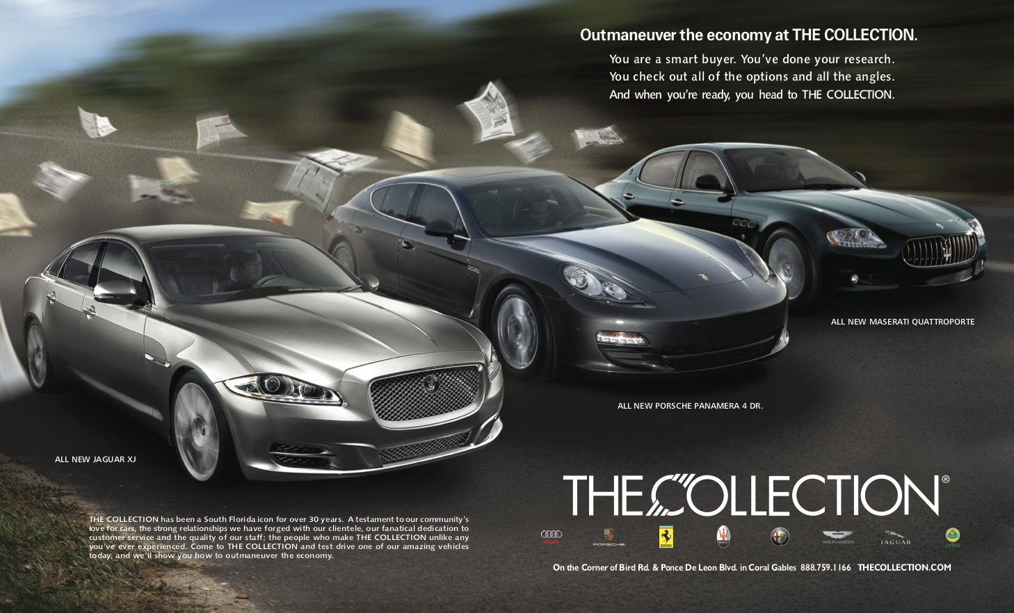 Outmaneuver The Economy Ad Campaign