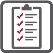 A checklist with tick marks under the Project Audit & Recovery segment