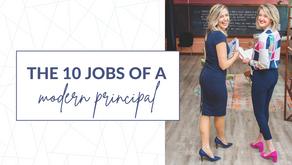 The 10 Jobs of a Modern Principal