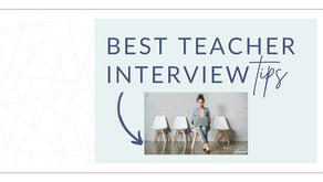 Best Teacher Interview Tips