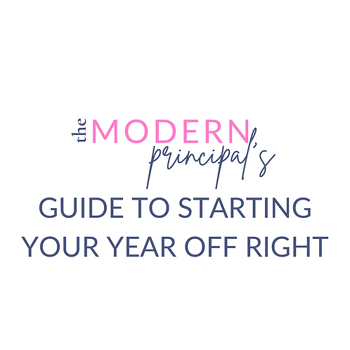 TMP's Guide to Starting the Year