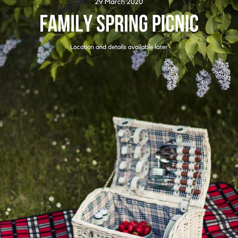Family Spring Pic-nic