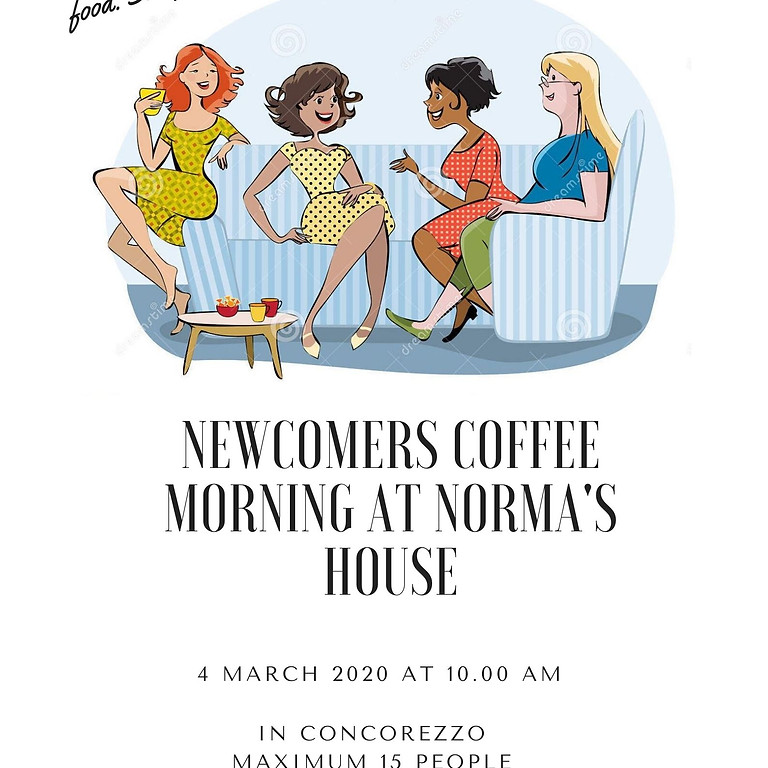 Newcomers Coffee Morning at Norma's