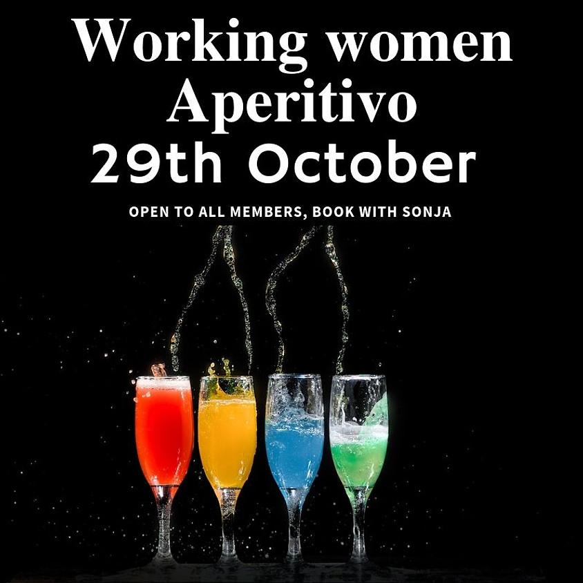 Working women aperitivo