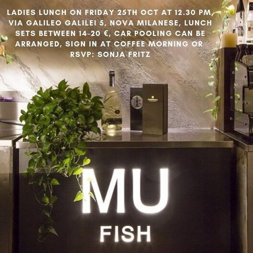 Ladies Lunch at MU FISH